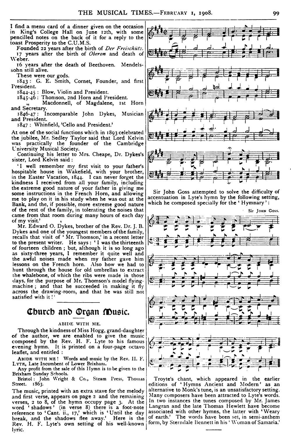 Fig. 4.   The Musical Times,  1 Feb. 1908 (vol. 49), p. 99.