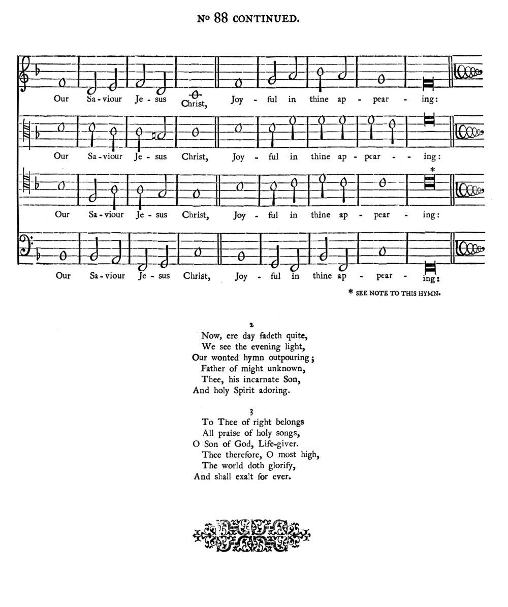 Fig. 7.   Yattendon Hymnal  (Oxford: University Press, 1920).