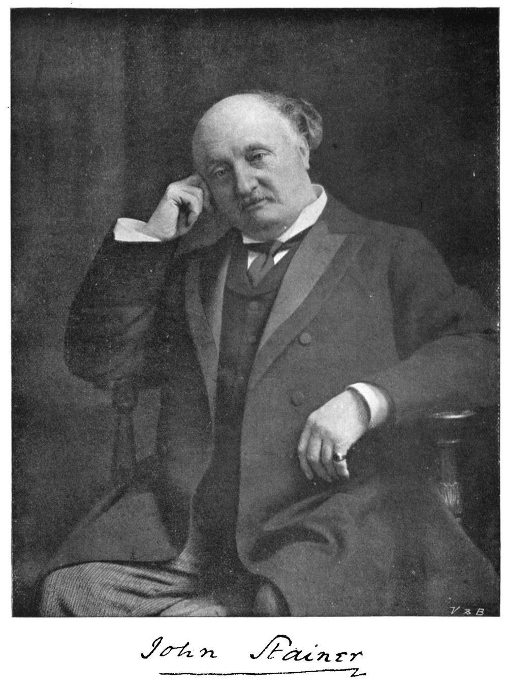 John Stainer , from  The Musical Times , 1 May 1901, p. 298.