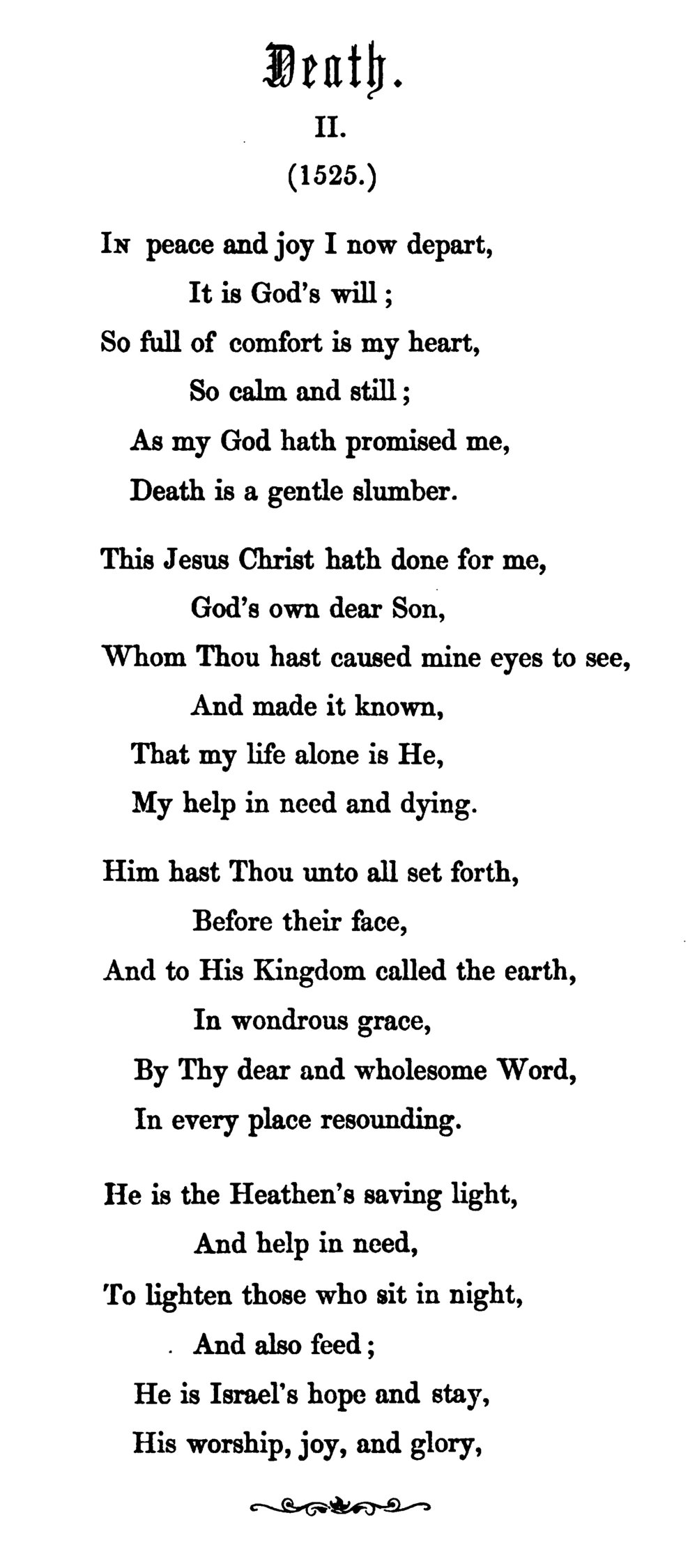 Fig. 6.  Richard Massie,  Martin Luther's Spiritual Songs  (London, 1854).