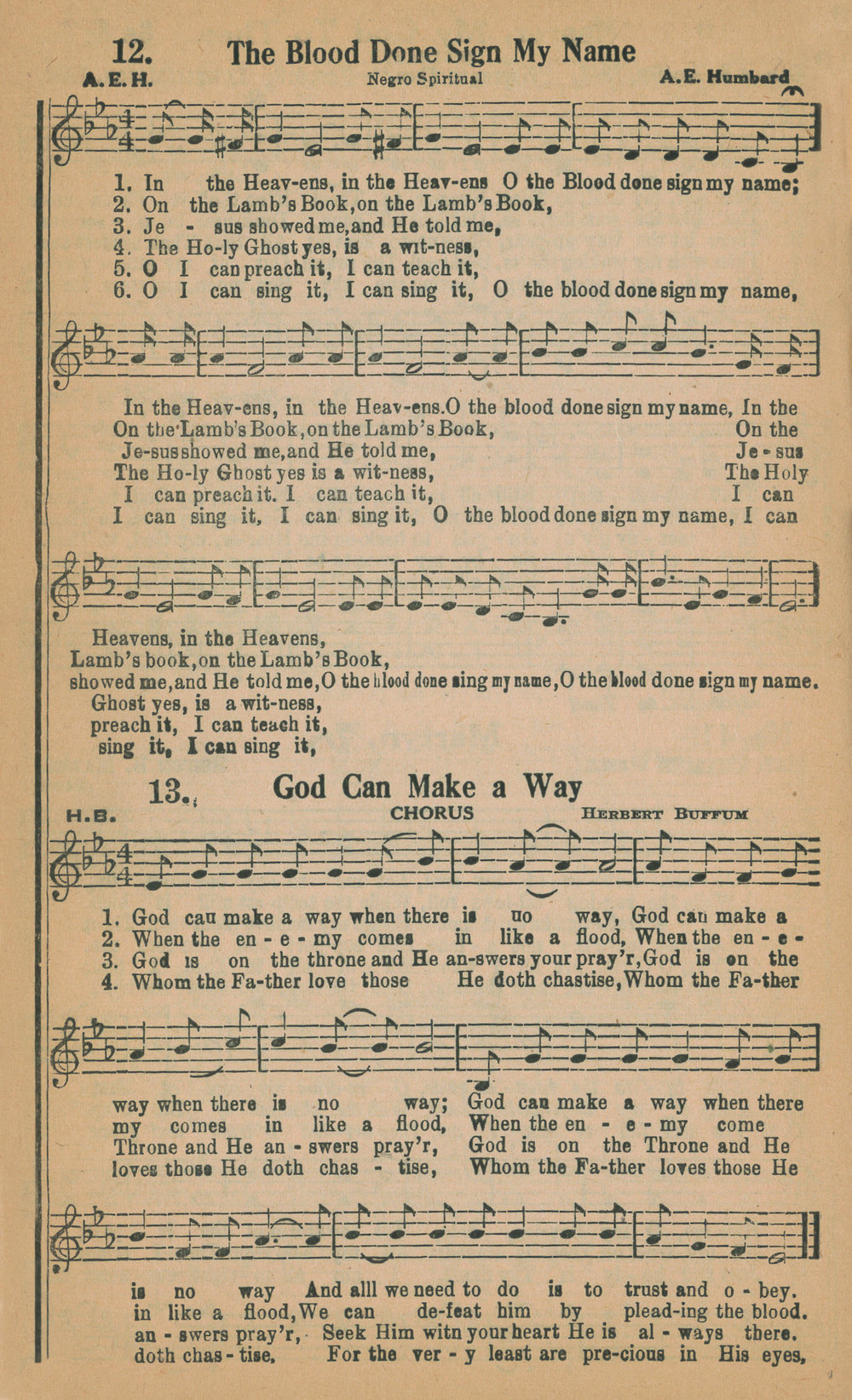 Fig. 5.   Humbard Family Songs  (Little Rock, Arkansas, ca. 1939).