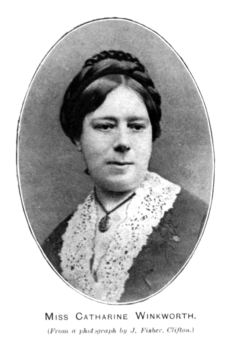 Catherine Winkworth,  from  Hymns Ancient & Modern Historical Edition  (1909).