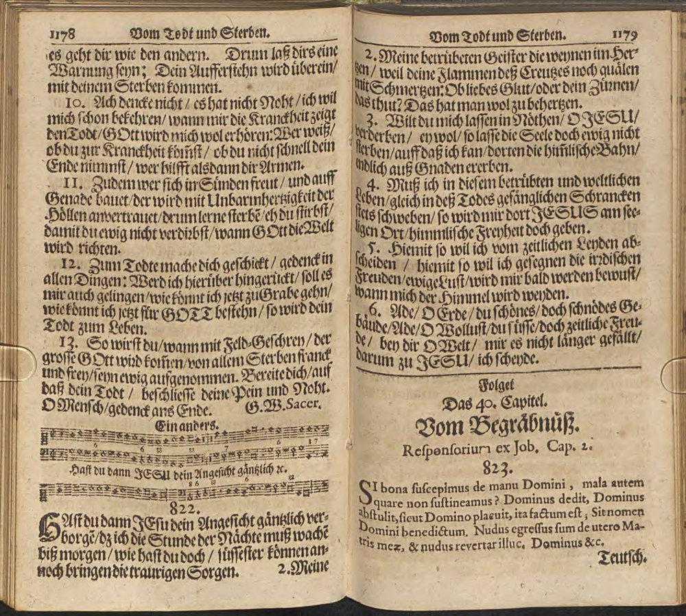 Fig. 3.   Praxis Pietatis Melica  (ed. Peter Sohren, 1668).