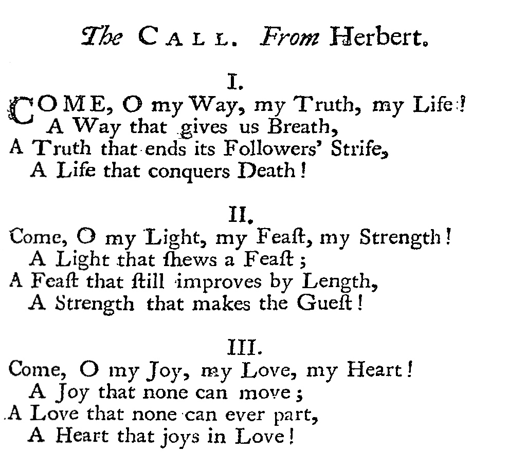 Fig. 2.   Hymns and Sacred Poems  (1739), p. 119.