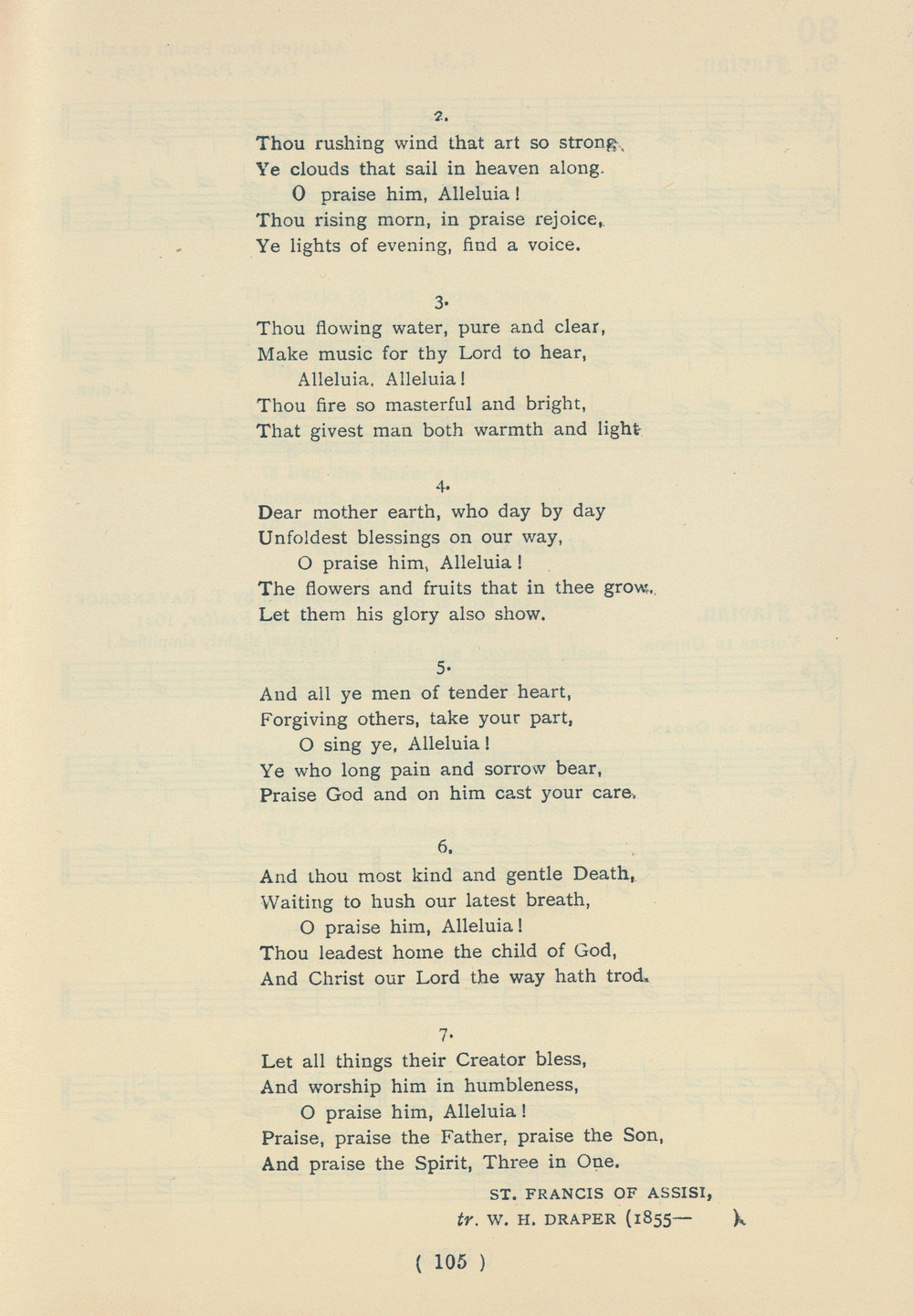 Fig. 4.   The Public School Hymn Book with Tunes  (London: Novello, 1919), no. 79.