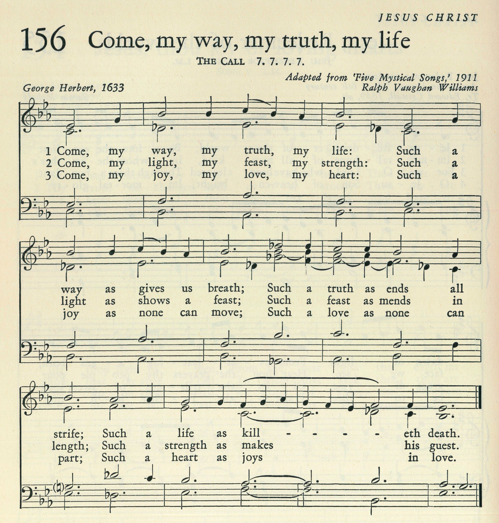 Fig. 4.   Hymnal for Colleges and Schools  (New Haven: Yale University, 1956).