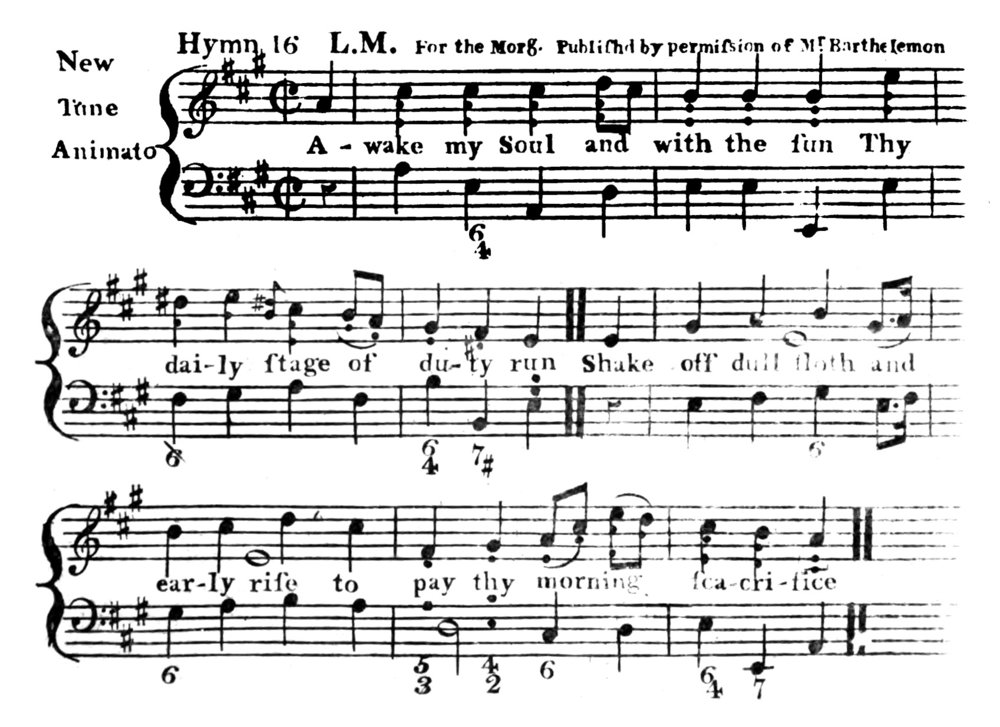 Fig. 5.   Hymns and Psalms Used at the Asylum or House of Refuge for Female Orphans  (ca. 1785–1789).