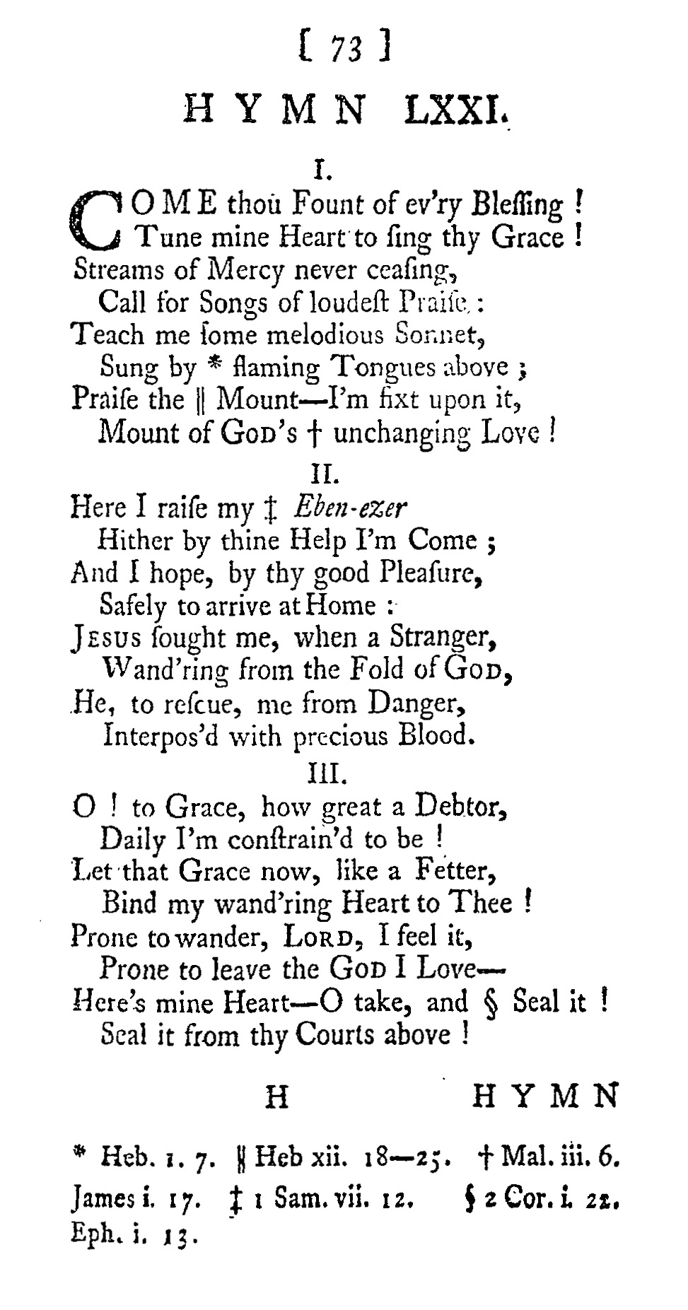 Fig. 2.  Martin Madan,  A Collection of Psalms and Hymns  (London, 1760).