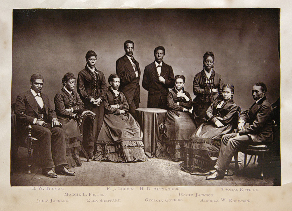 Fisk Jubilee Singers,  in  The Story of the Jubilee Singers, with Their Songs , ed. J.B.T. Marsh (London, 1875).