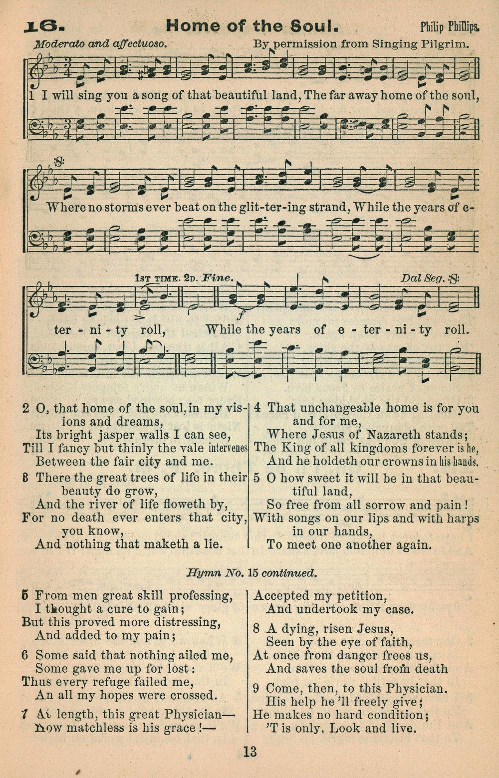 Fig. 3.  Joseph Hillman,  The Revivalist  (Troy, N.Y.: J. Hillman, 1868).