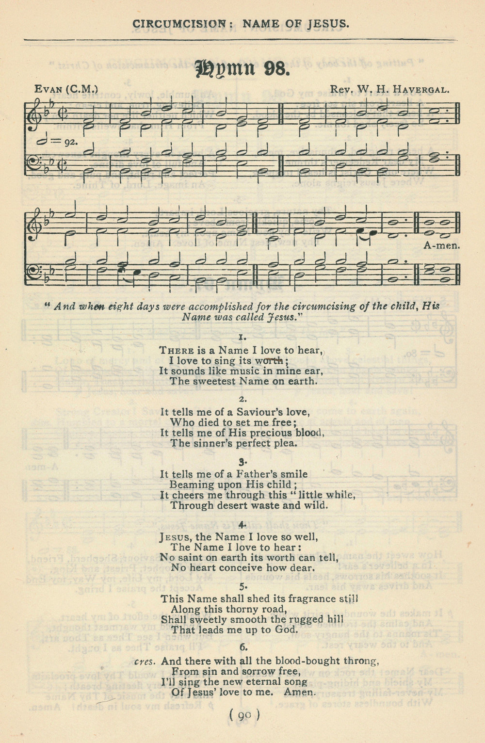 Fig. 6.   Church Hymnal  (Dublin, 1873).