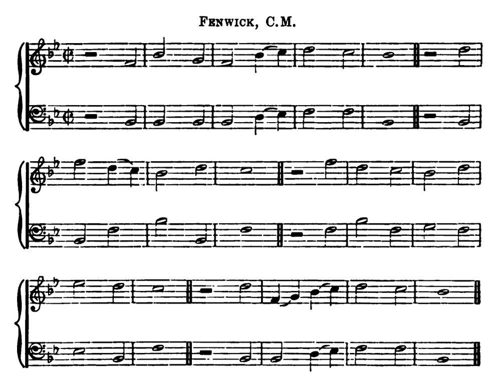 Fig. 2.  James Love,  Scottish Church Music  (London: William Blackwood & Sons, 1891), p. 304.