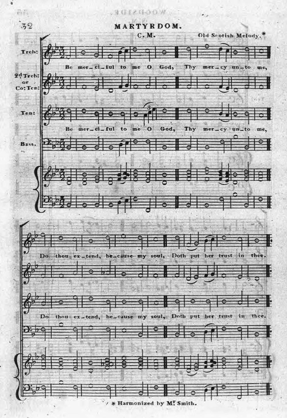Fig. 3.  R.A. Smith,  Sacred Music … Sung in St. George's Church, Edinburgh  (1825).