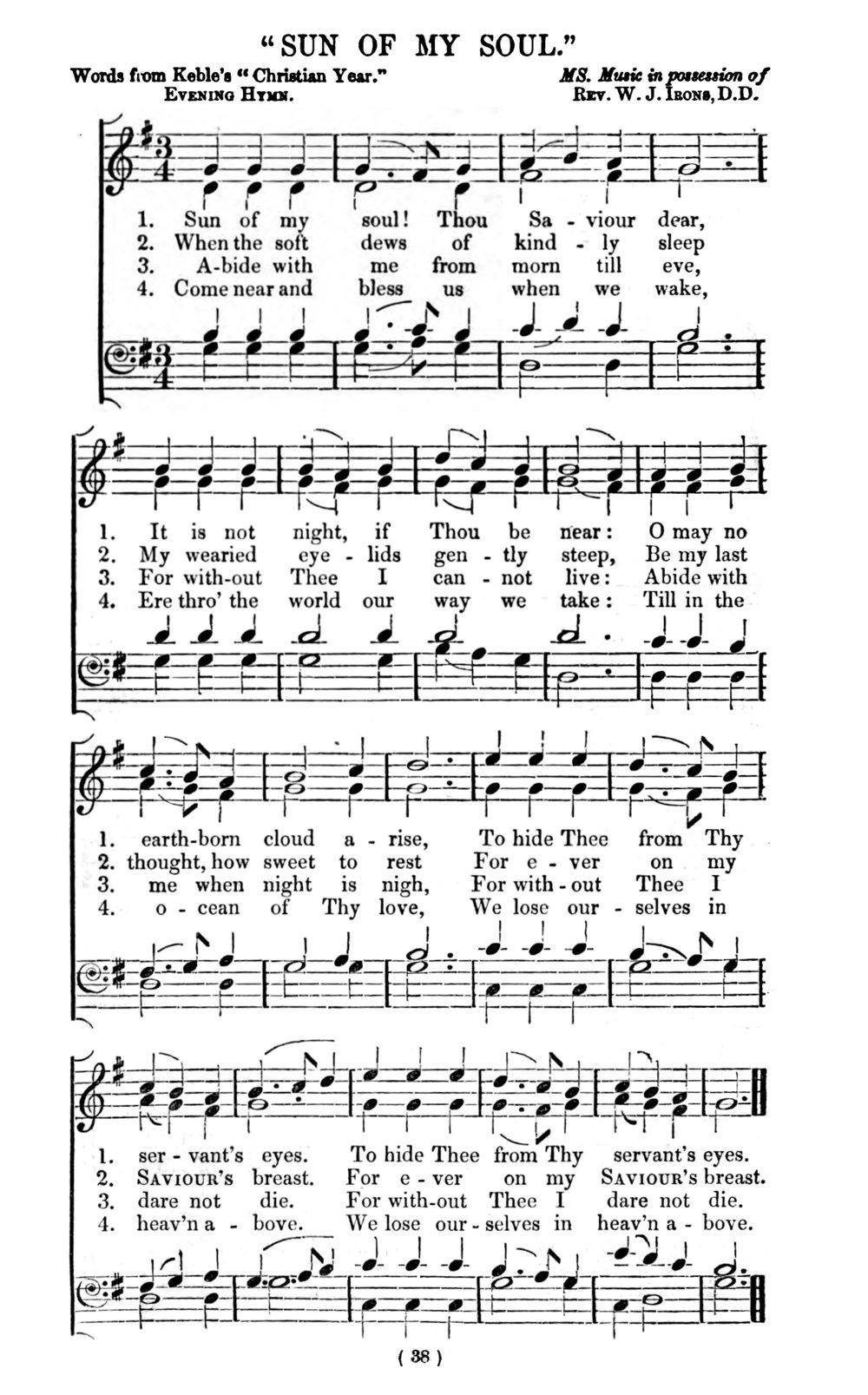 Fig. 2.   The Metrical Psalter,  ed.William Irons & Henry Lahee (London: Novello, 1855).
