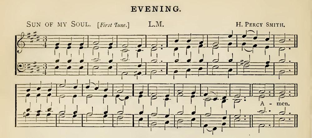 Fig. 5.  Arthur Sullivan,  Church Hymns with Tunes  (London: SPCK, 1874).