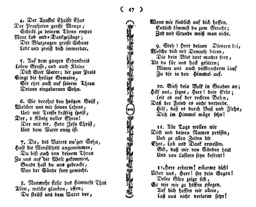 Fig. 7.   Katholisches Gesangbuch  (Wien, 1774).