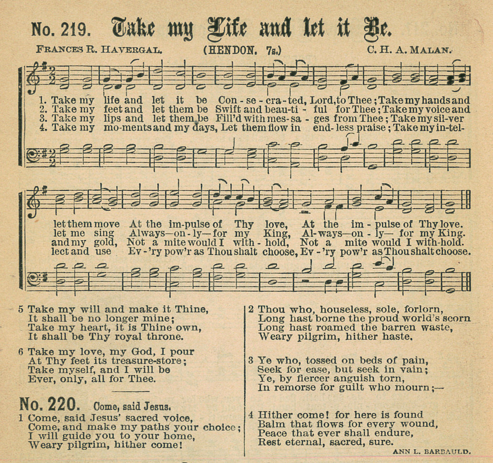 Fig. 7.   Gospel Hymns No. 5  (Chicago: Biglow & Main, 1887).
