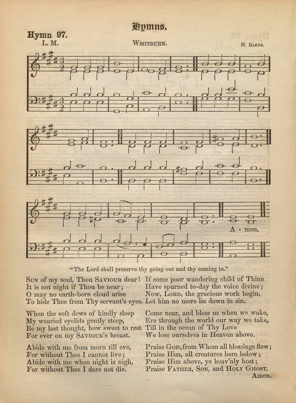 Fig. 4.  John Grey,  Hymnal for Use in the English Church  (London: 1866).