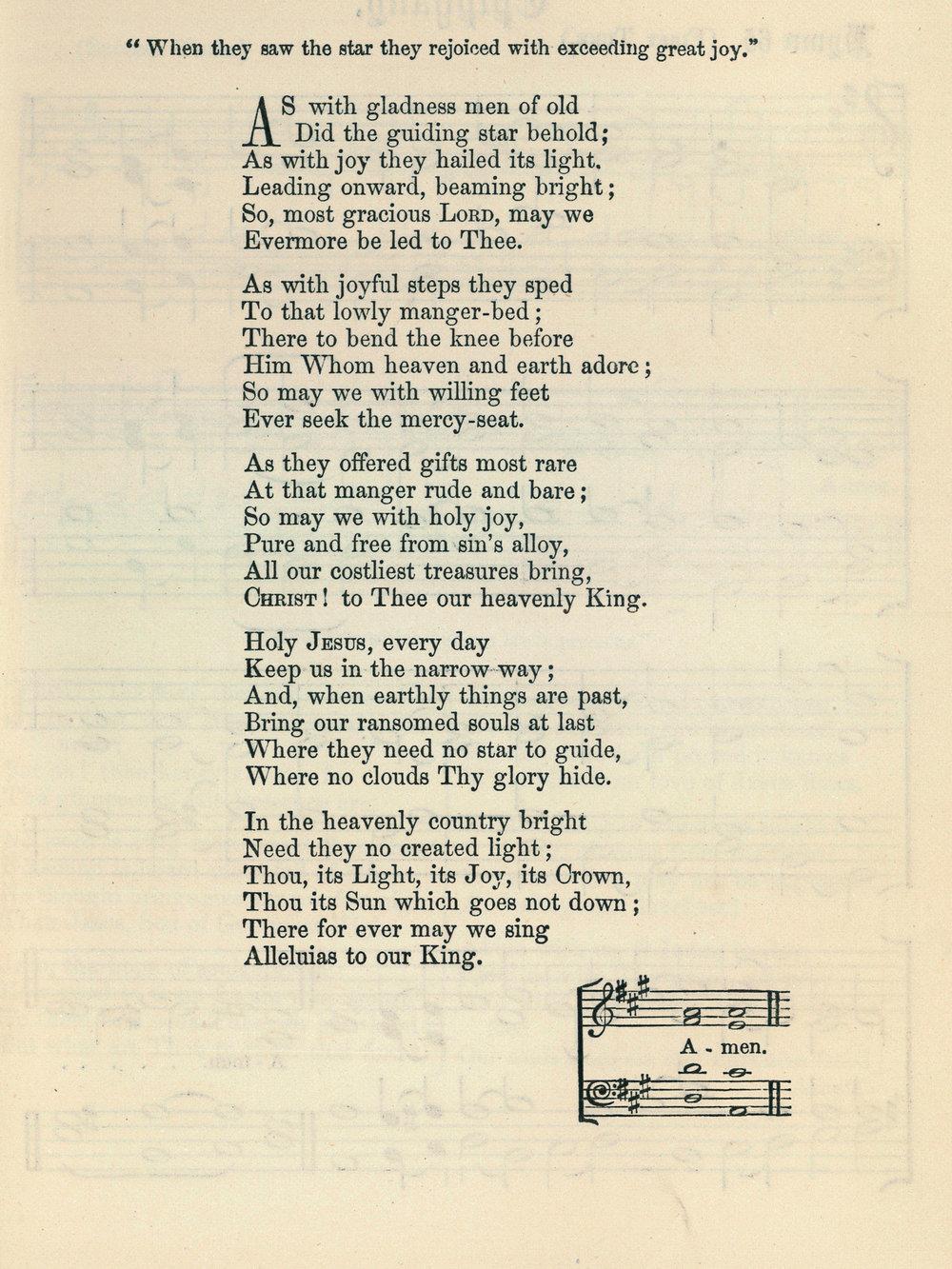 Fig. 4.   Hymns Ancient & Modern  (London, 1861).