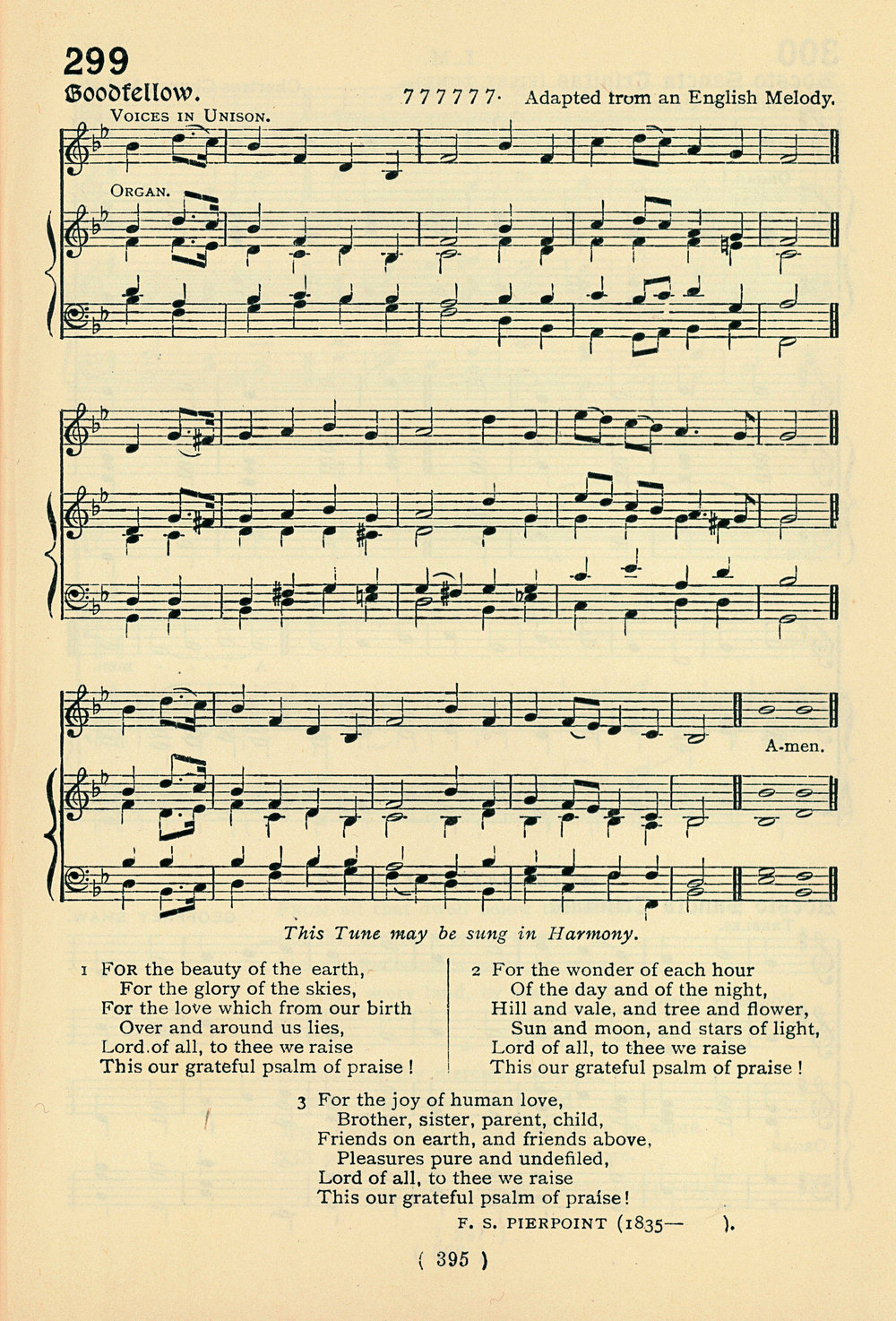 Fig. 3.   Public School Hymn Book  (London: Novello, 1919).