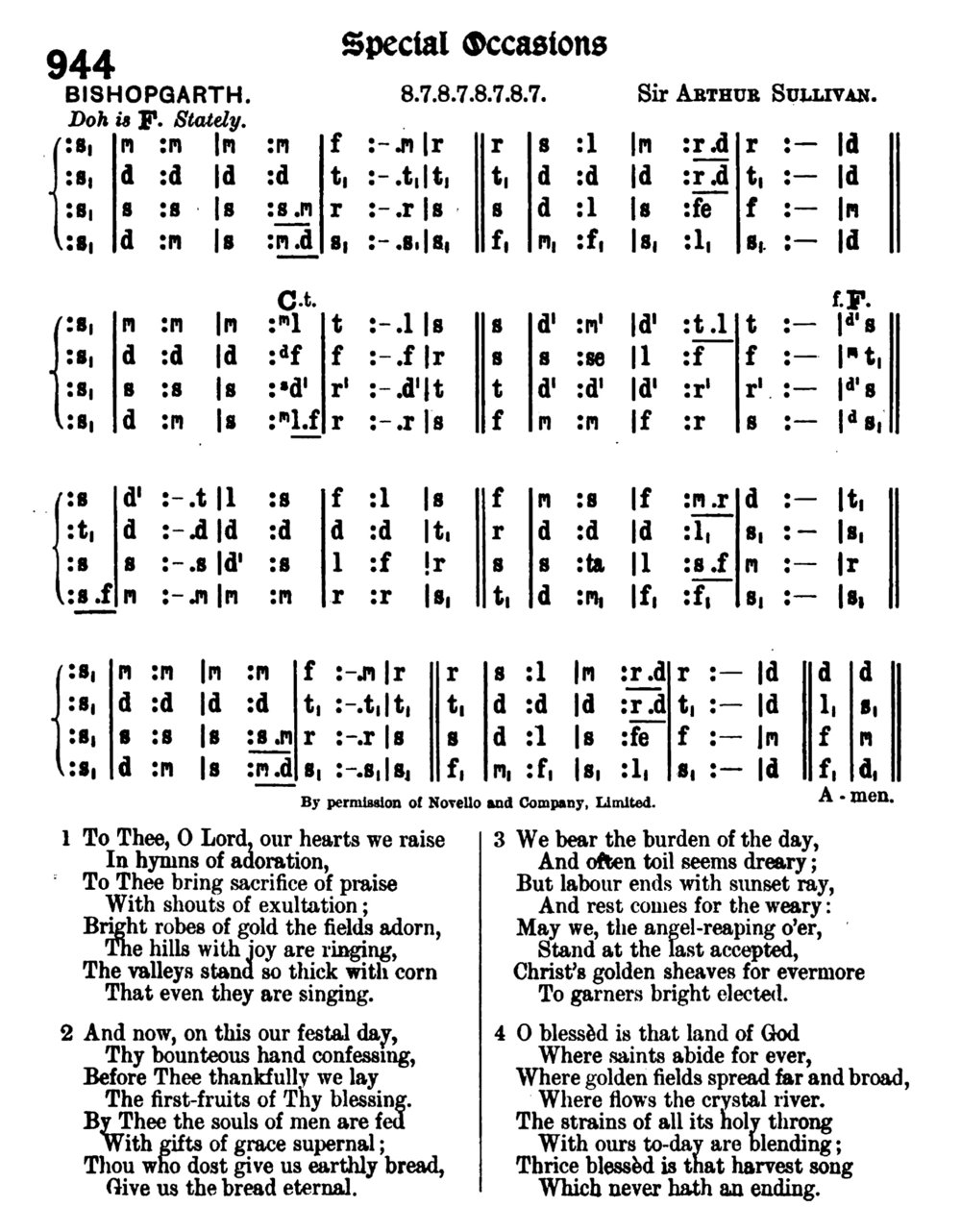 Fig. 4.   Methodist Hymn Book with Tunes , ed. Frederick Bridge (London: Wesleyan Conference, 1904).