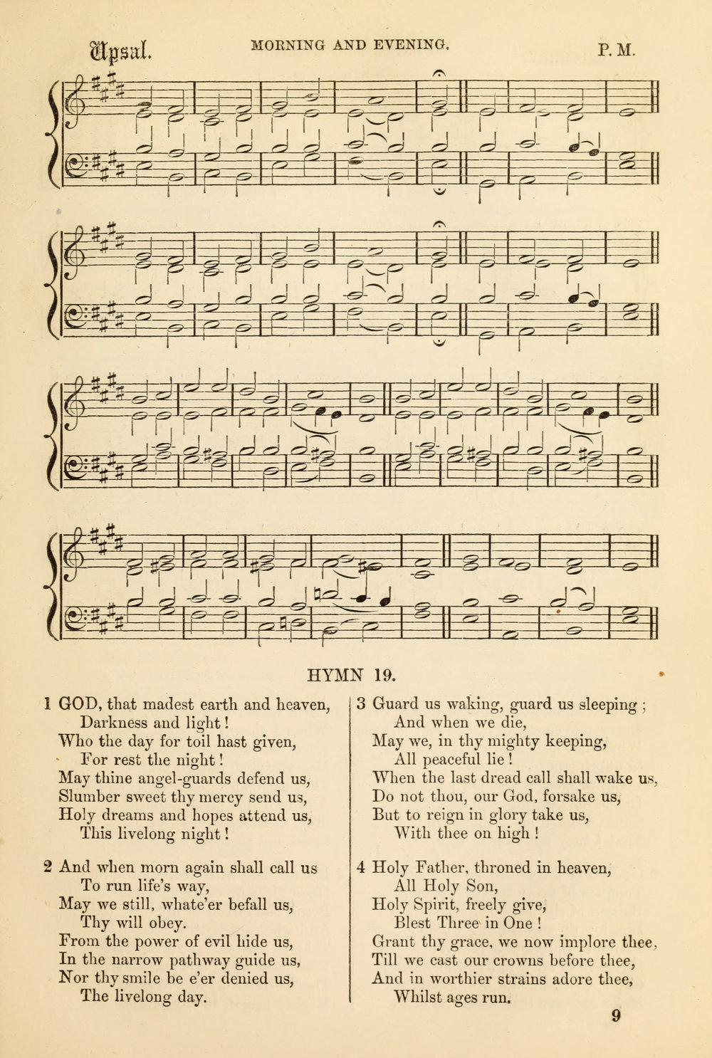 Fig. 6.   Church Psalter and Hymn Book  (London: James Nisbet, 1864).