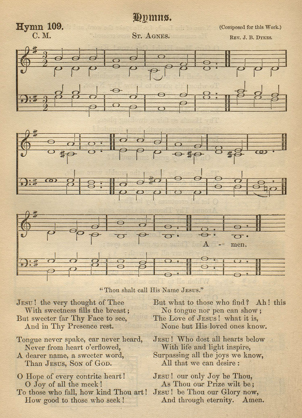 Fig. 5.  John Grey,  Hymnal for Use in the English Church  (London: 1866).