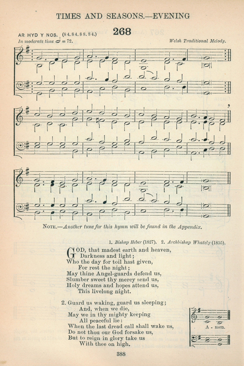 Fig. 8.   The English Hymnal  (Oxford: University Press, 1906).