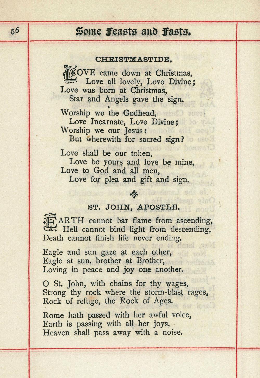 Fig. 2.  Christina Rossetti,  Verses  (London: SPCK, 1893).