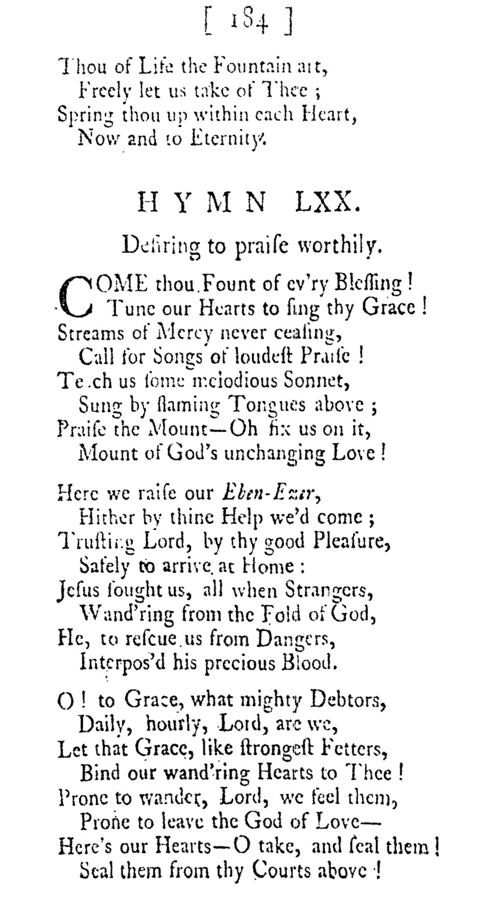 Fig. 3.  George Whitefield,  A Collection of Hymns for Social Worship , 10th ed. (London, 1761).