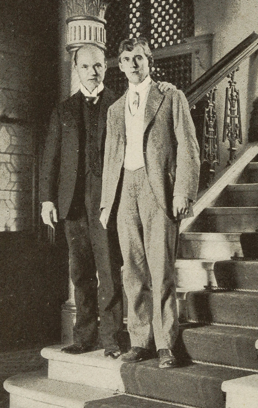 Alexander & Harkness in New Zealand, 1902, in  Twice Around the World with Alexander  (1907).