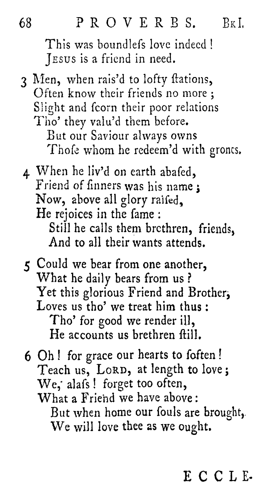 Fig. 1.   Olney Hymns  (1779).