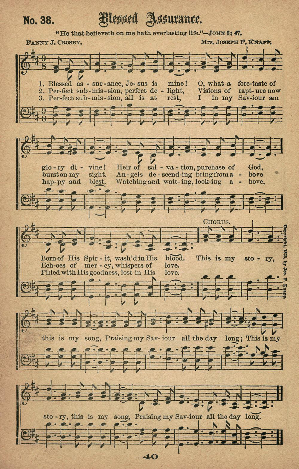 Fig. 2.   Gospel Hymns No. 5  (Chicago: Biglow & Main, 1887).