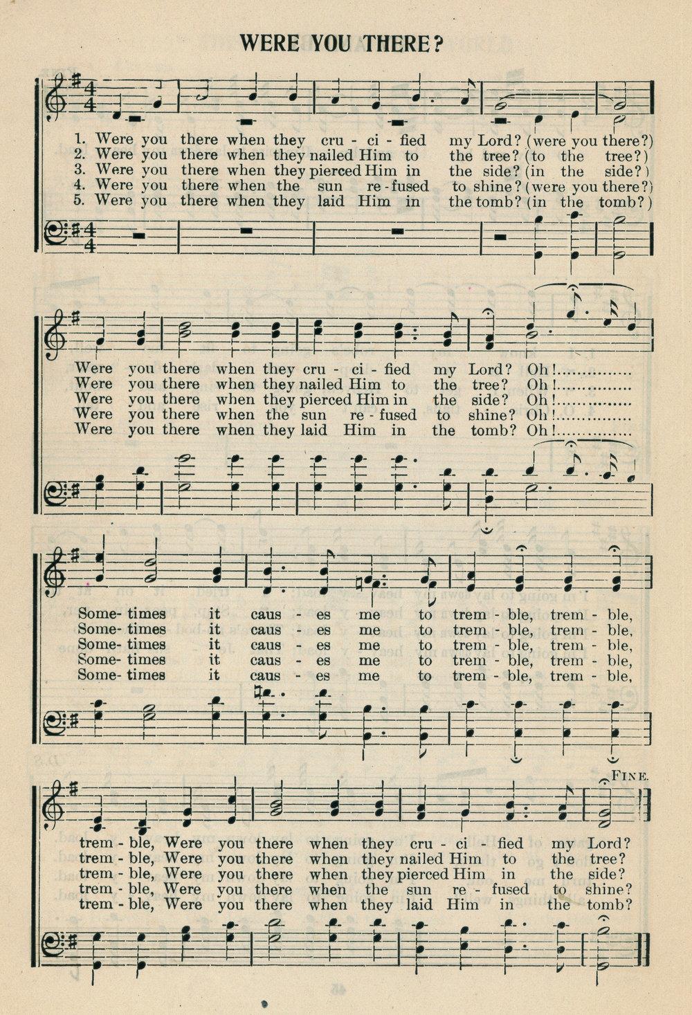 Fig. 3.  Frederick J. Work,  New Jubilee Songs  (Nashville: Fisk University, 1902).