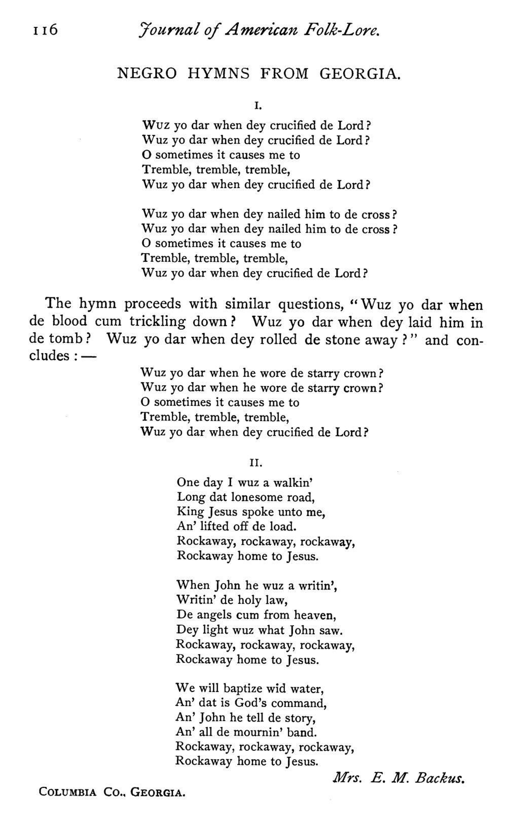 Fig. 7.   Journal of American Folk-Lore,  vol. 10, no. 37 (Apr.–June 1897).