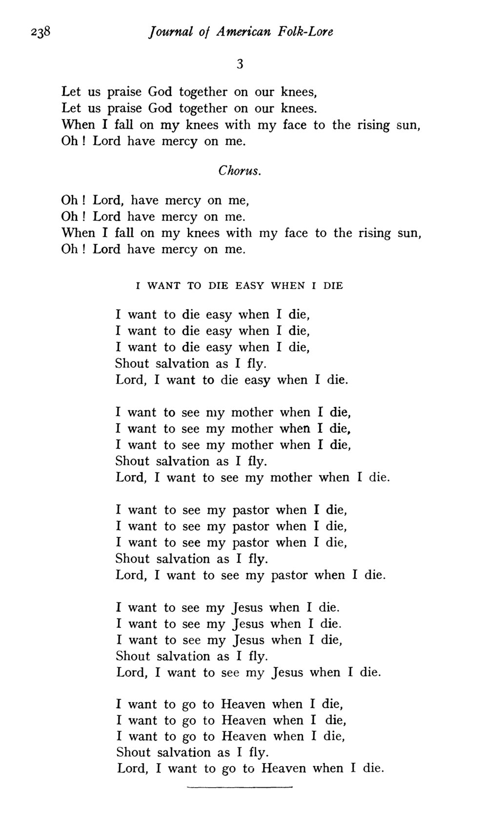 Fig. 1.   Journal of American Folk-Lore,  vol. 38, no. 148 (Apr.–June 1925).