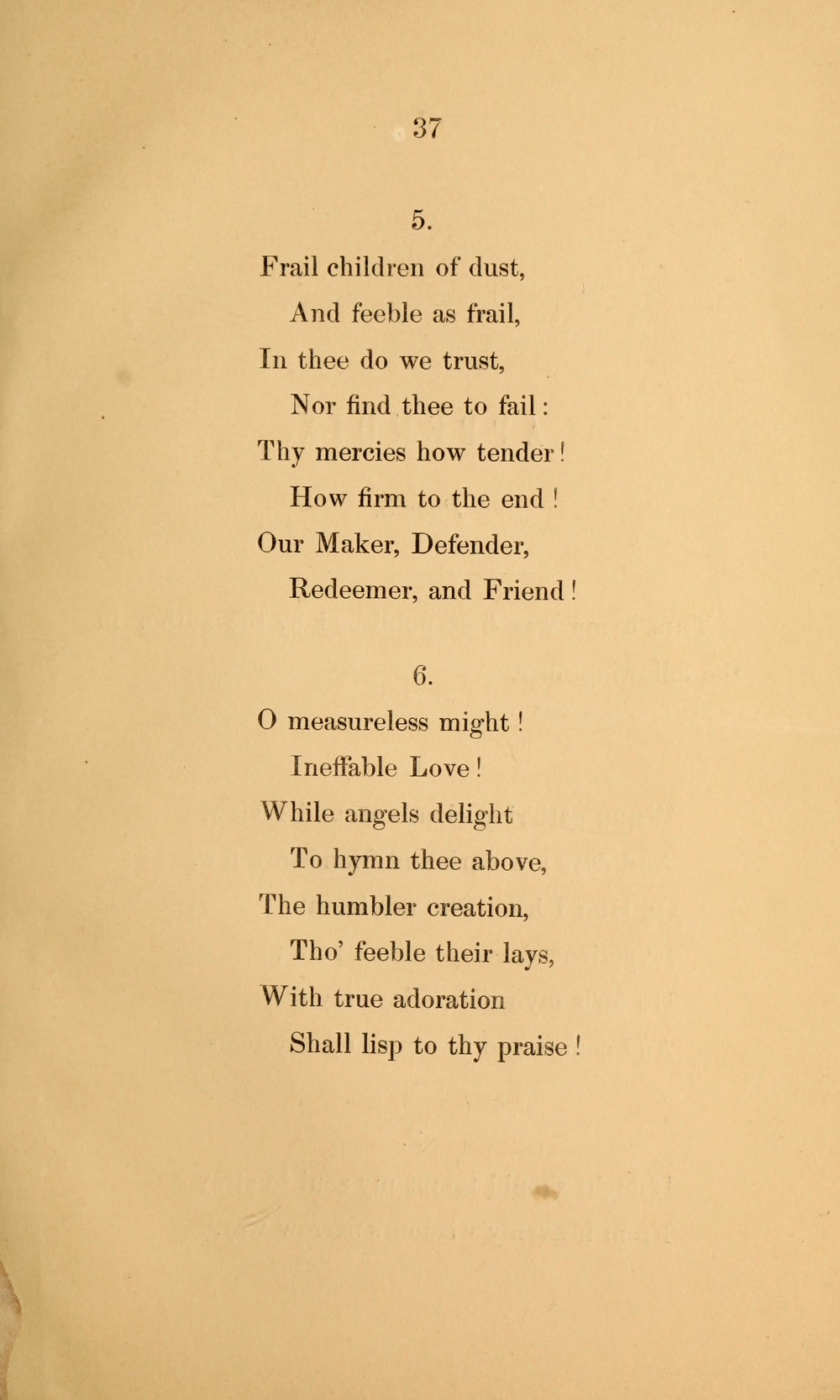 Fig. 3.  Robert Grant,  Sacred Poems  (London: Saunders and Otley, 1839).