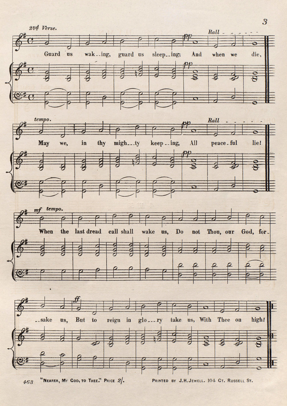 """Fig. 2.  T.B. Southgate, """"God, that madest earth and heaven: Evening Hymn"""" (London: J.H. Jewell, [1858])."""