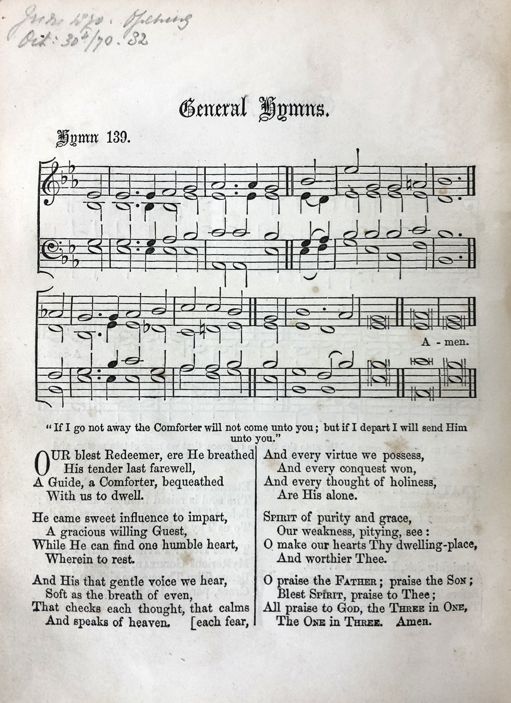 Fig. 2.   Hymns Ancient & Modern  (London: Novello, 1861).