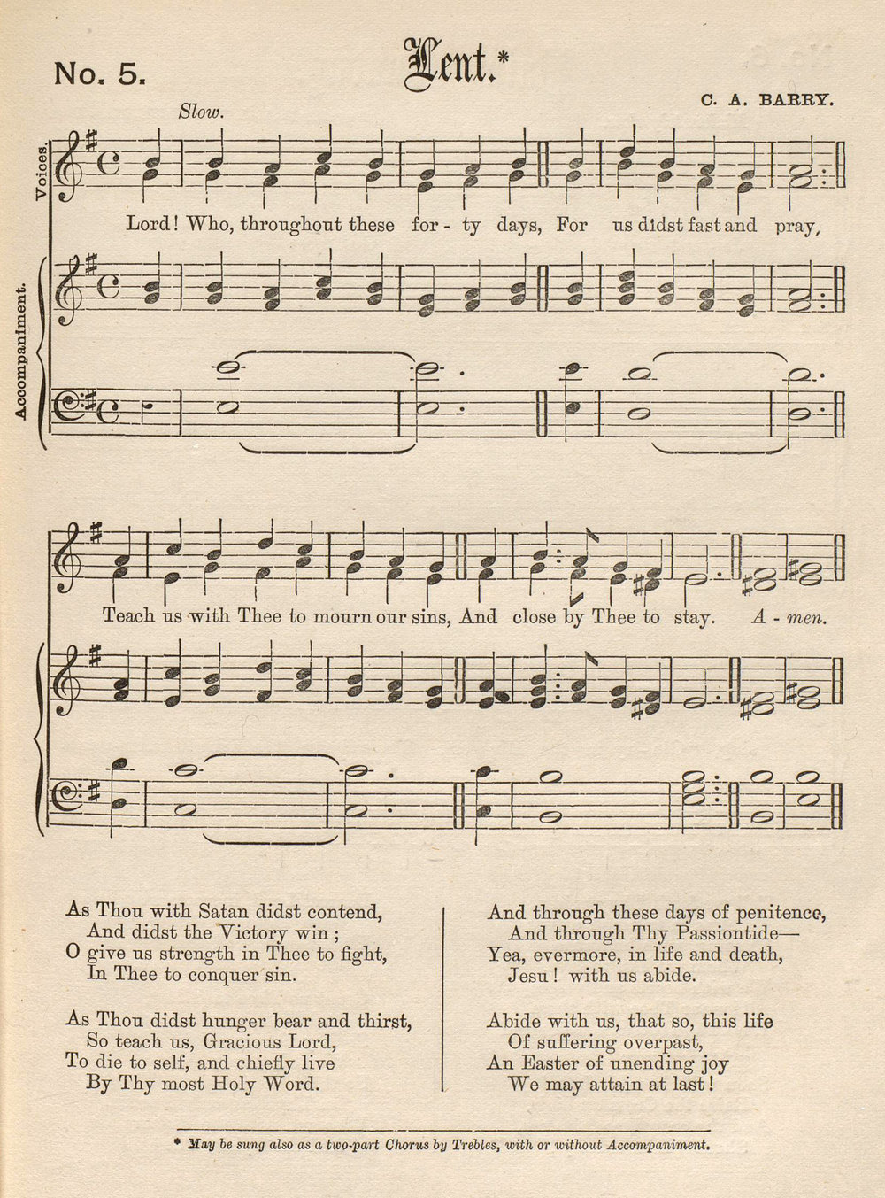 Fig 3.   The Child's Book of Praise … with Accompanying Tunes  (London: J.T. Hayes, ca. 1879).