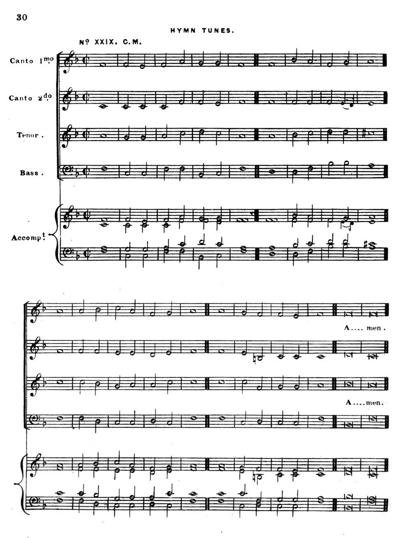 Fig. 6.  Richard Redhead,  Church Hymn Tunes Ancient & Modern  (London: I. Masters, 1853).