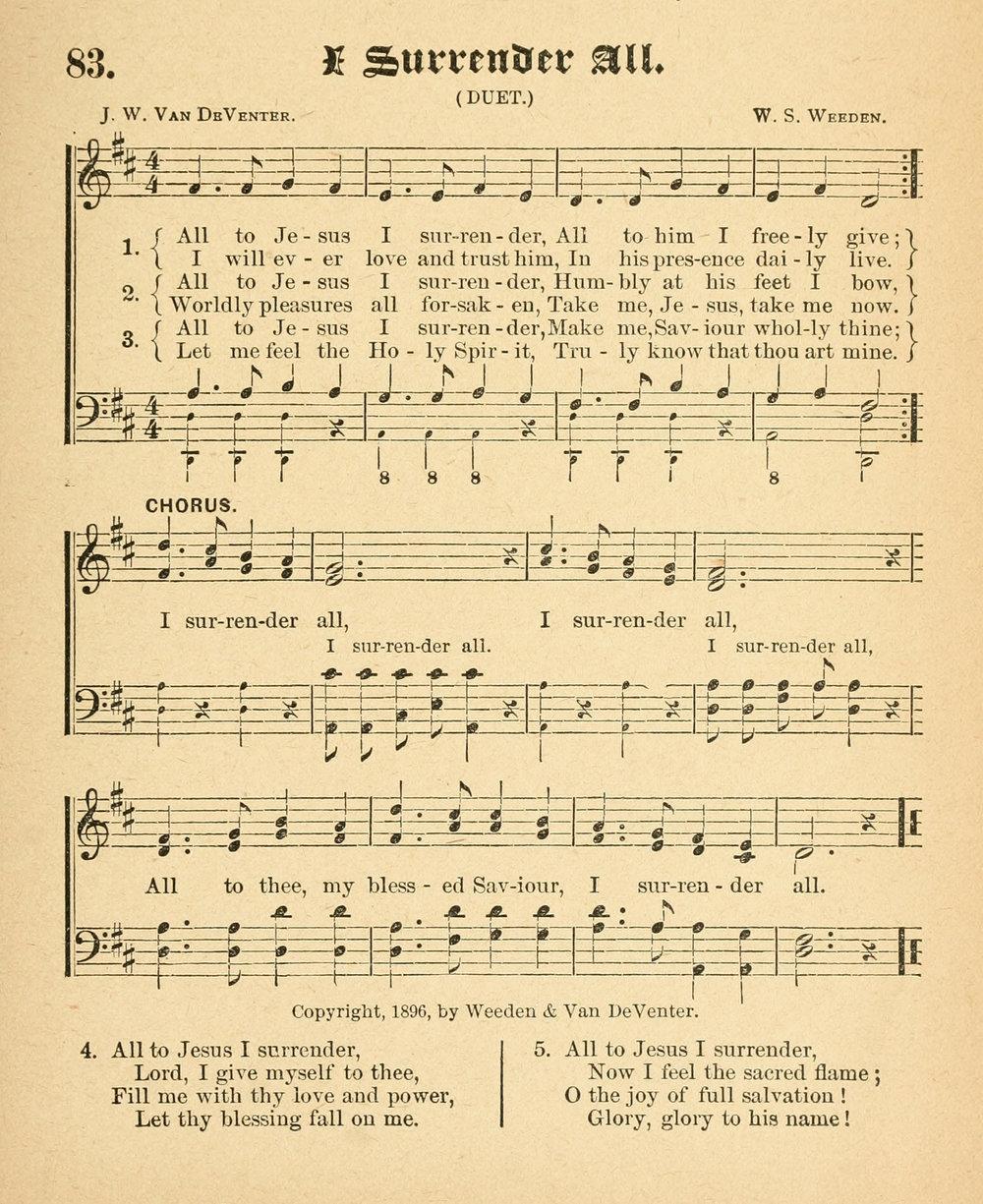 Fig. 1.   Gospel Songs of Grace and Glory  (NY: Sebring Publishing, 1896).
