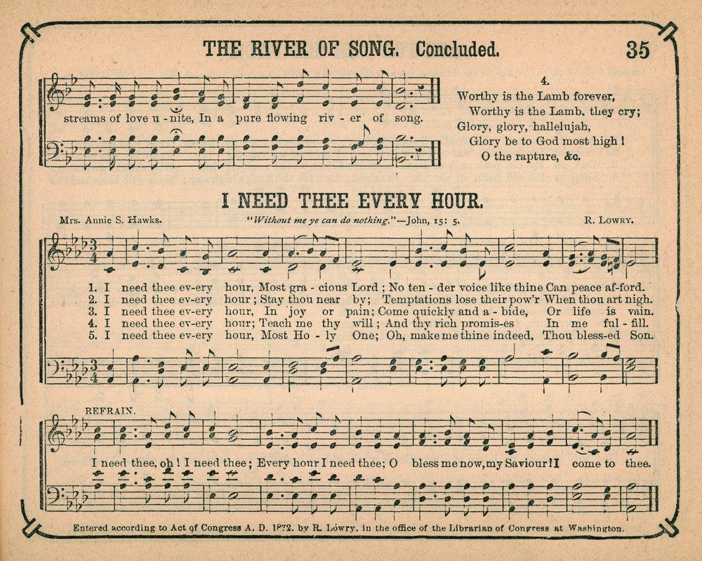 Fig. 1.   Royal Diadem for the Sunday School  (NY: Biglow & Main, 1873).