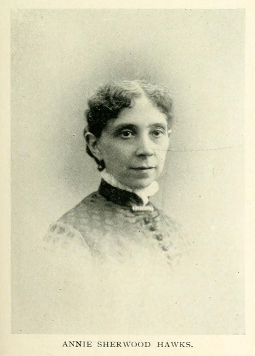Annie Hawks,   A Woman of the Century , ed. Frances Willard & Mary Livermore (Buffalo, N.Y.: C.W. Moulton, 1893), p. 365.