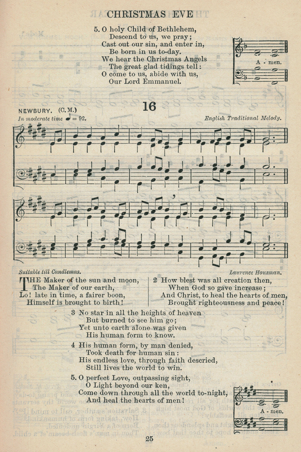 Fig. 4.   The English Hymnal  (Oxford: University Press, 1906).