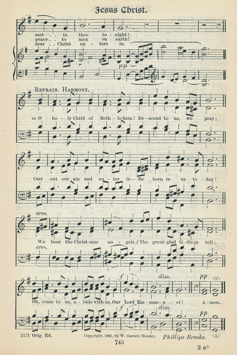 Fig. 5.  W. Garrett Horder,  Worship Song with Accompanying Tunes  (London: Novello, 1905).