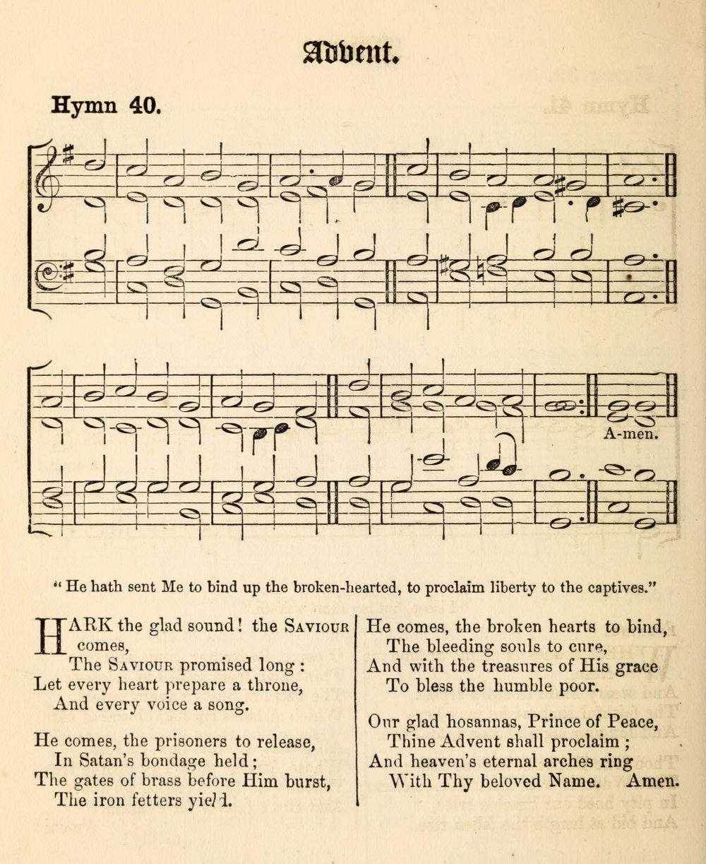Fig. 9.   Hymns Ancient & Modern  (London: Novello, 1861).