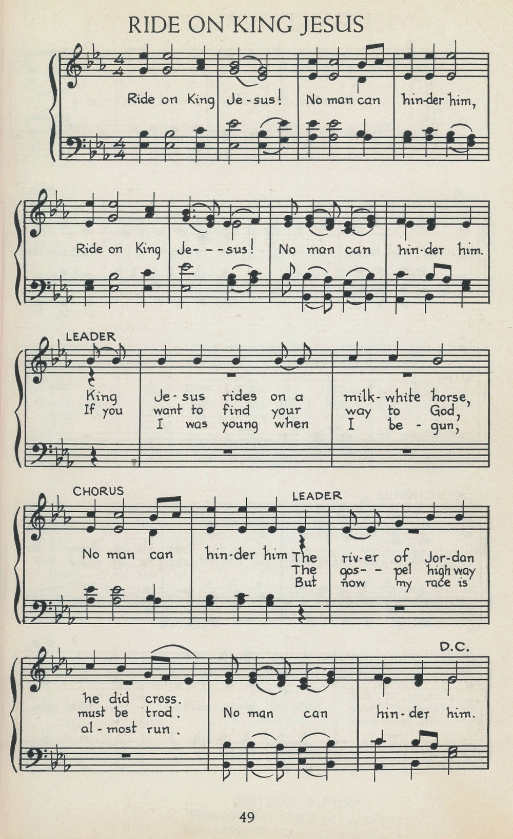 Fig. 2.   American Negro Songs and Spirituals  (NY: Bonanza Books, 1940).