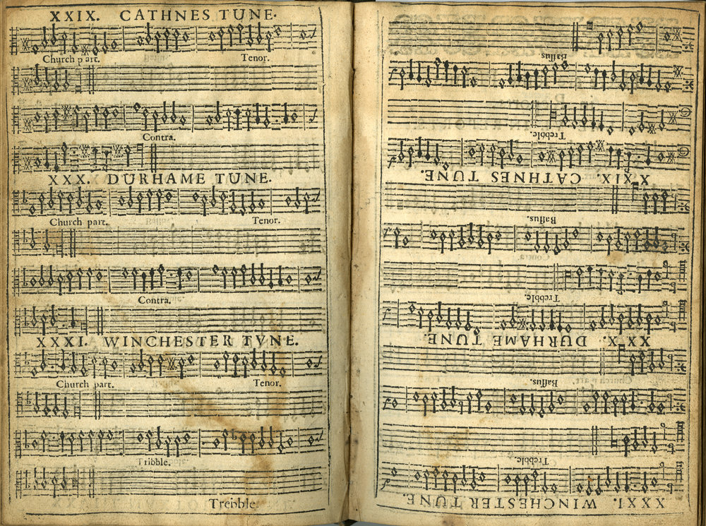 Fig. 8.   The Psalmes of David in Prose and Meeter  (Edinburgh: The Heirs of Andrew Hart, 1635).