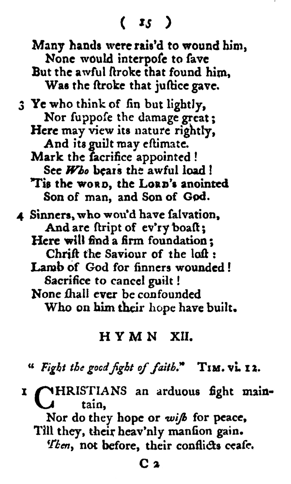 Fig. 1.   Hymns on Various Passages of Scripture  (Dublin, 1804).